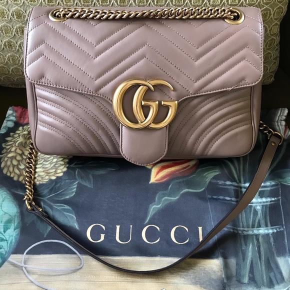 79d0b11a0f60 Gucci Bags | Gg Marmont Medium Matelasse Shoulder Bag | Poshmark